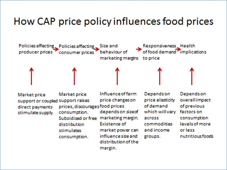 What can the government do to lower the food prices?